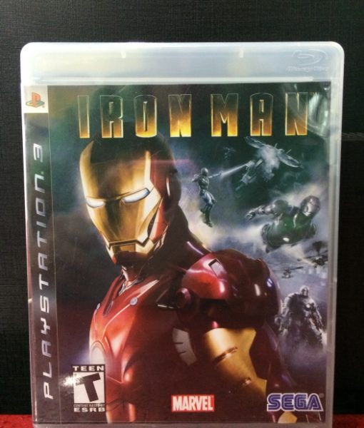 PS3 Iron Man game