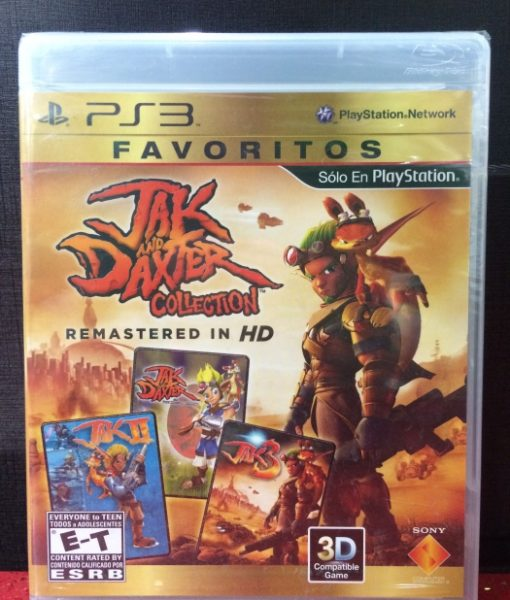 PS3 Jak Daxter Collection game