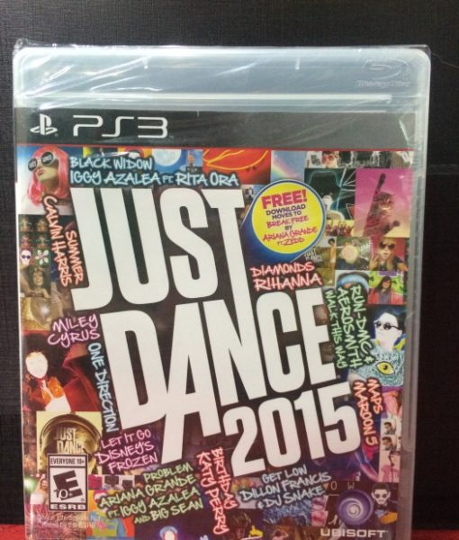 PS3 Just Dance 2015 game