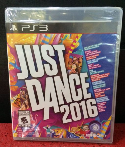 PS3 Just Dance 2016 game