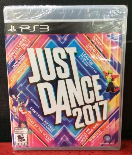 PS3 Just Dance 2017 game