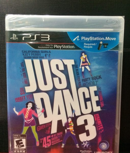 PS3 Just Dance 3 game