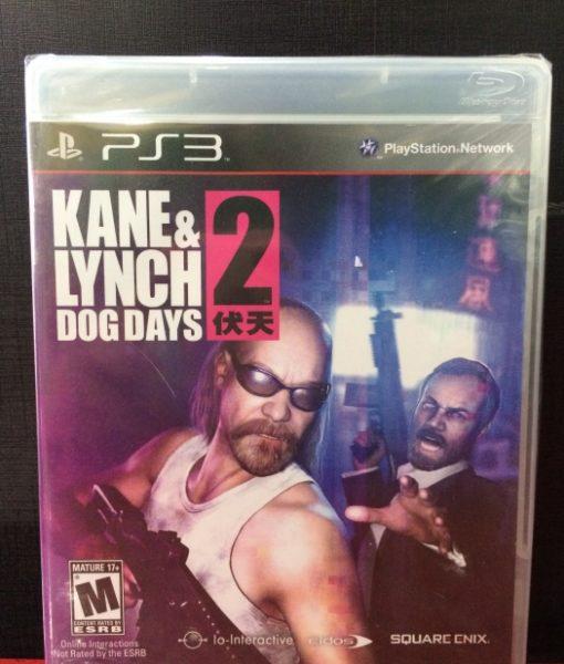 PS3 Kane Lynch 2 Dog Days game