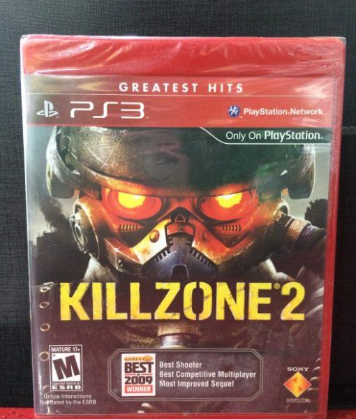 PS3 KillZone 2 game