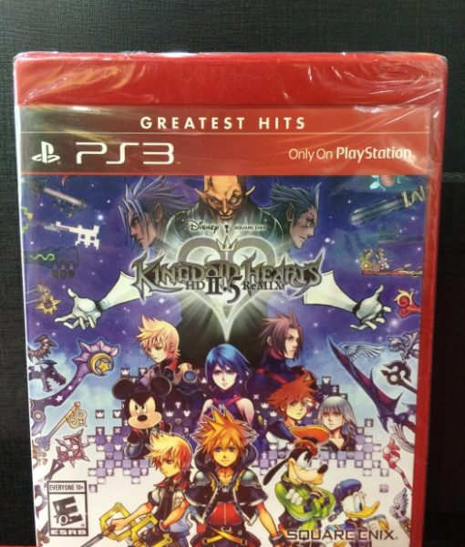 PS3 Kingdom Hearts HD 2.5 Standar game