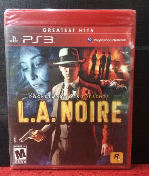 PS3 LA Noire game