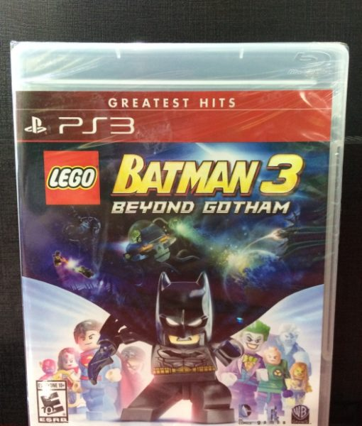 PS3 LEGO Batman 3 Beyond Gotham game
