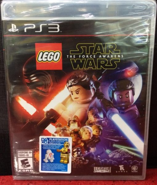 PS3 LEGO Force Awakens game