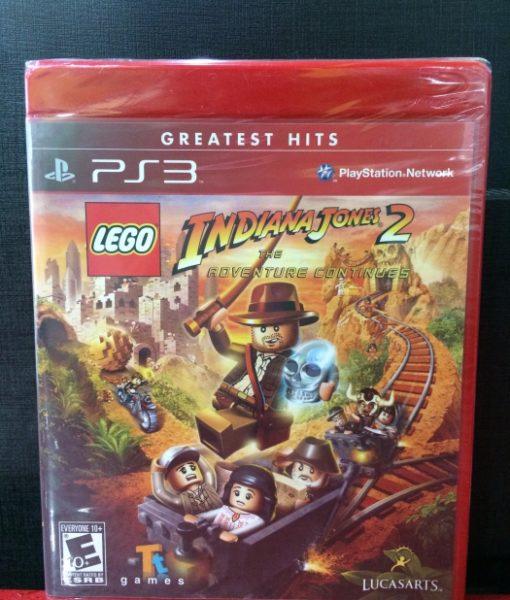 PS3 LEGO Indiana Jones 2 game