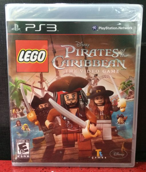 PS3 Lego Pirates of the Caribbean game