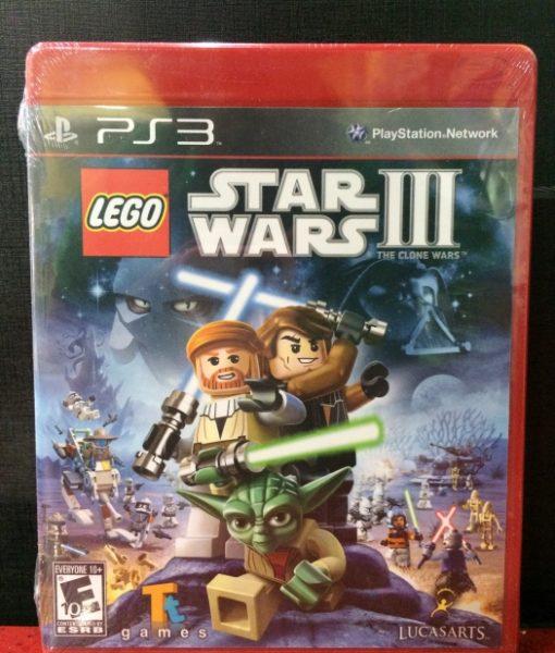PS3 Lego Star Wars III Clone Wars game