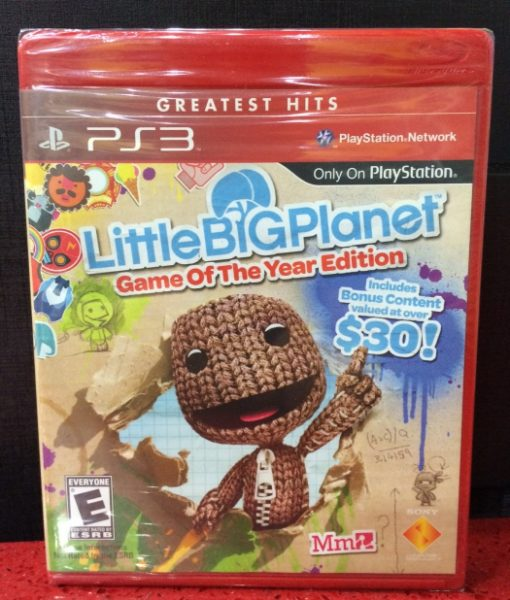 PS3 Little Big Planet game year