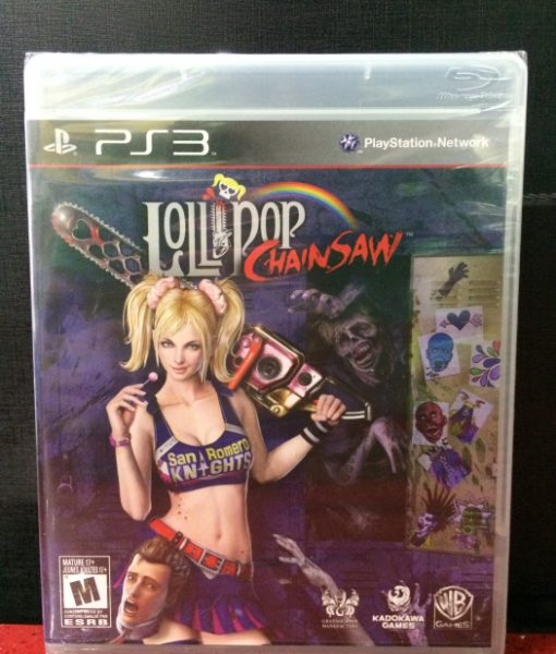 PS3 Lollipop ChainSaw game