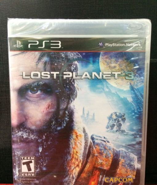 PS3 Lost Planet 3 game