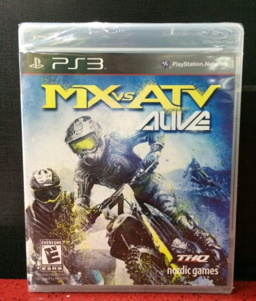 PS3 MX vs ATV Alive game