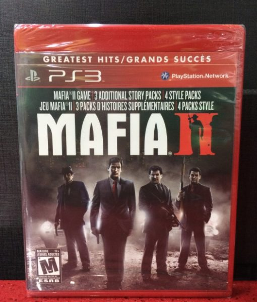 PS3 Mafia II game