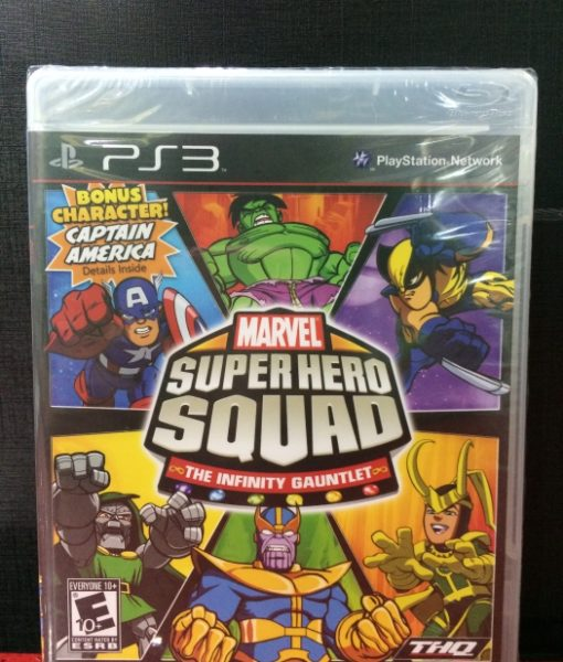 PS3 Marvel Super Hero Squad Gauntlet game