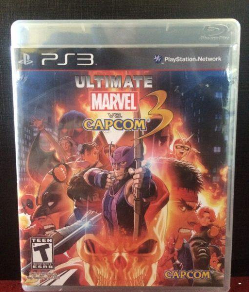 PS3 Marvel vs Capcom 3 Ultimate game