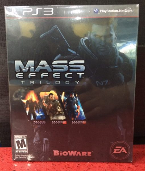 PS3 Mass Effect Trilogy game