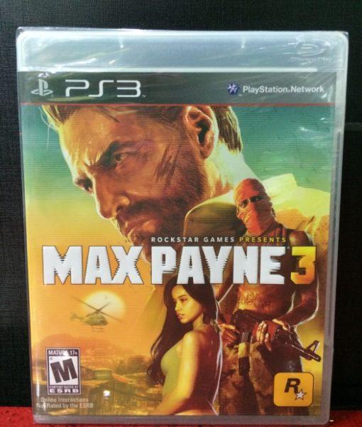 PS3 Max Payne 3 game