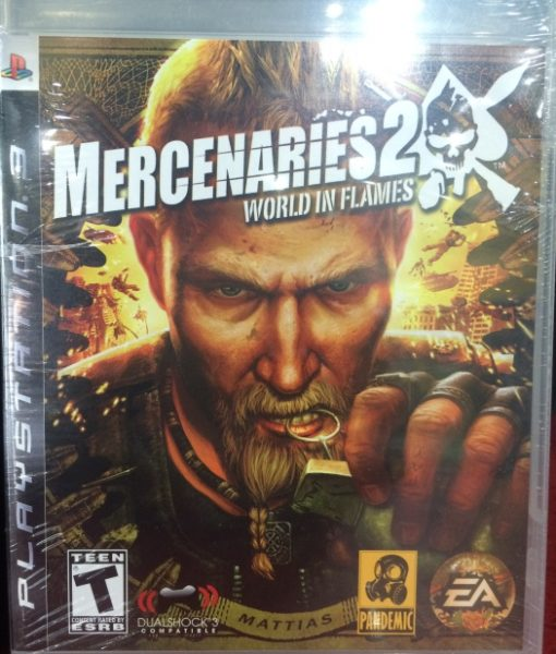 PS3 Mercenaries 2 game