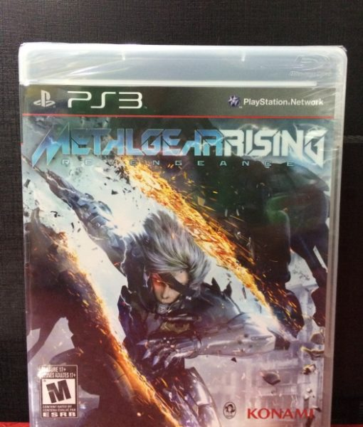 PS3 Metal Gear Rising Revengeance game