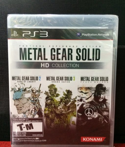 PS3 Metal Gear Solid HD Collection game
