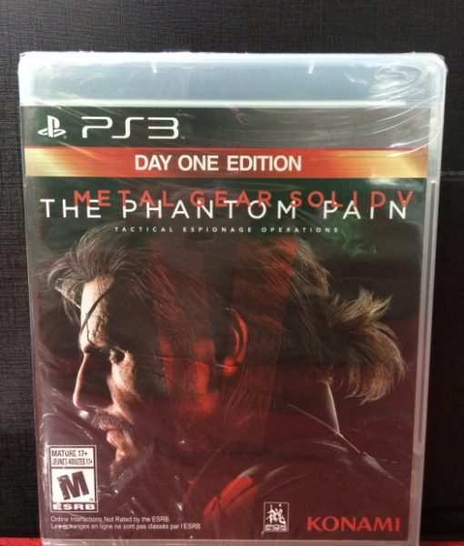 PS3 Metal Gear Solid V The Phantom Pain game