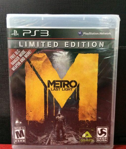 PS3 Metro Last Light game