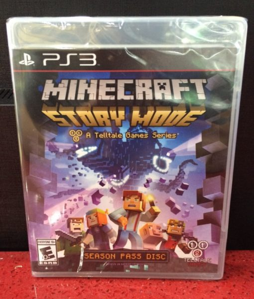 PS3 Minecraft Story Mode game