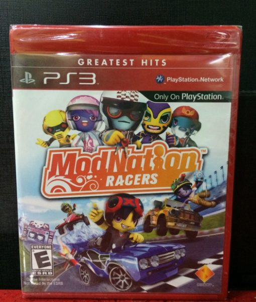 PS3 ModNation Racers game