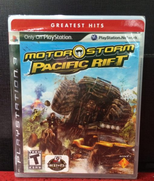 PS3 MotorStorm Pacific Rift game