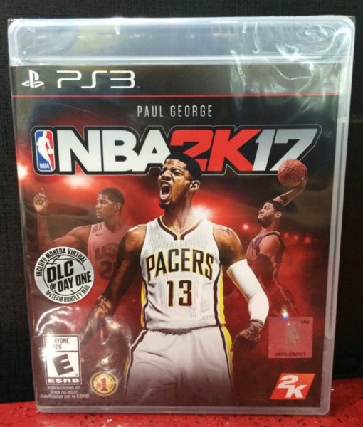 PS3 NBA 2K17 game