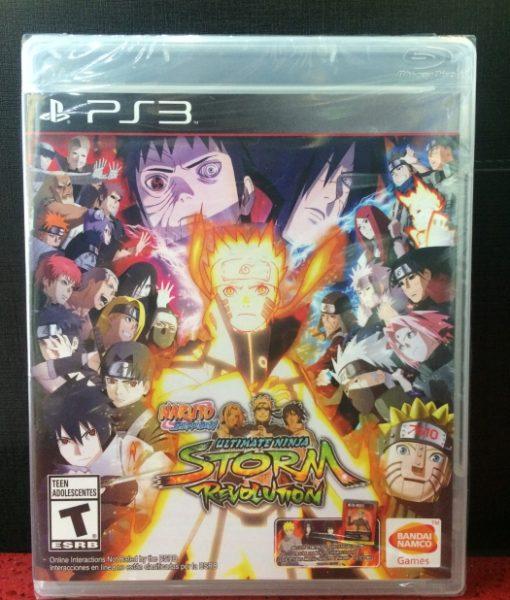 PS3 Naruto Ninja Storm Revolution game