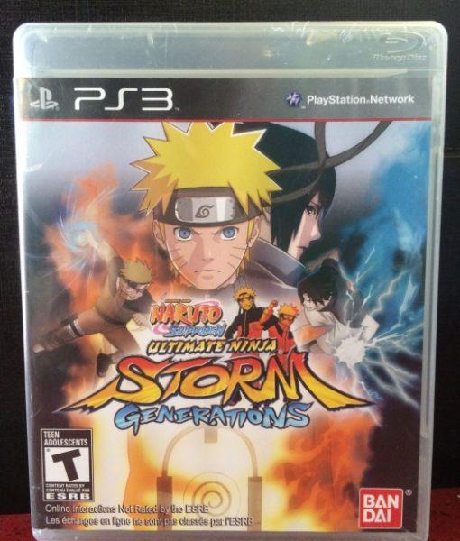 PS3 Naruto Storm Generations game