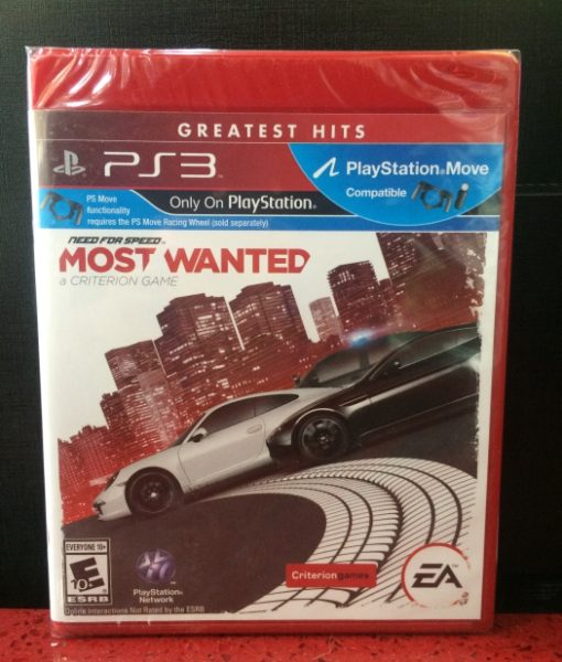 PS3 Need for Speed Most Wanted 2 game