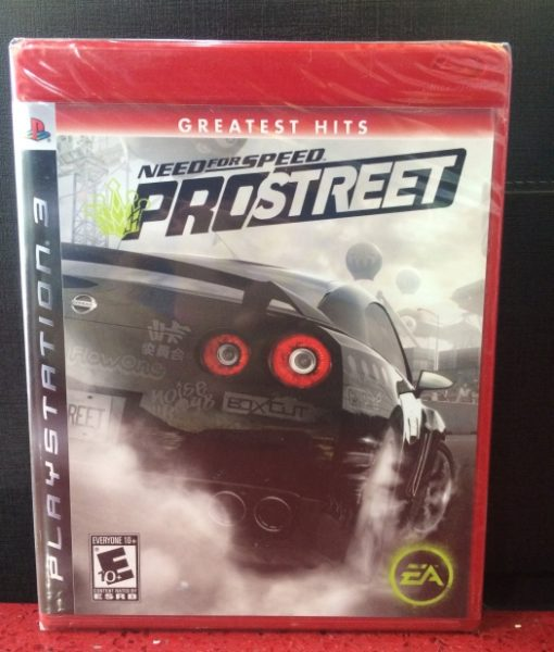 PS3 Need for Speed ProStreet game