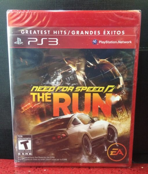 PS3 Need for Speed The Run game