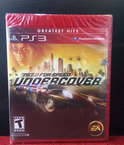 PS3 Need for Speed Undercover game