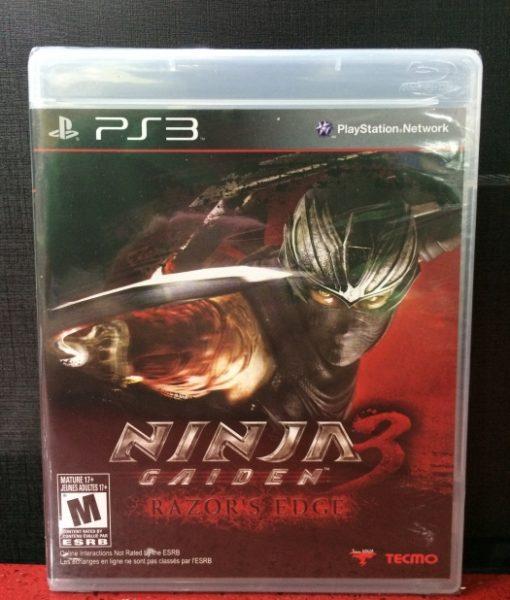 PS3 Ninja Gaiden 3 Razor Edge game