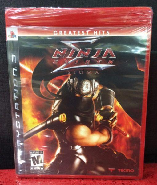 PS3 Ninja Gaiden Sigma game