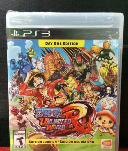 PS3 One Piece Unlimited World RED game