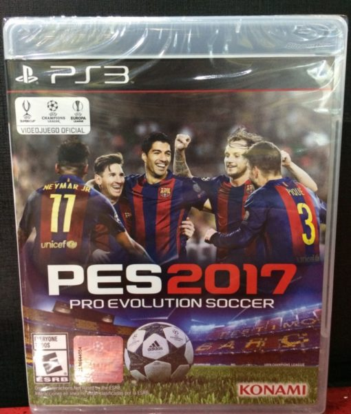 PS3 PES 2017 game
