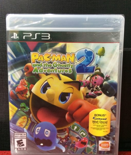 PS3 Pacman Ghostly Adventure 2 game