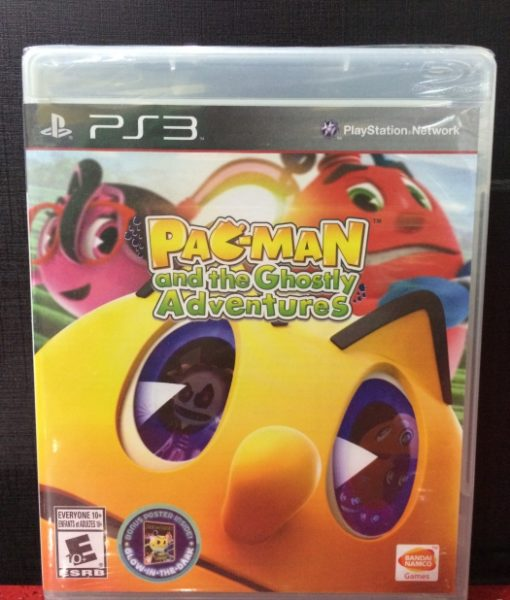 PS3 Pacman Ghostly Adventures game