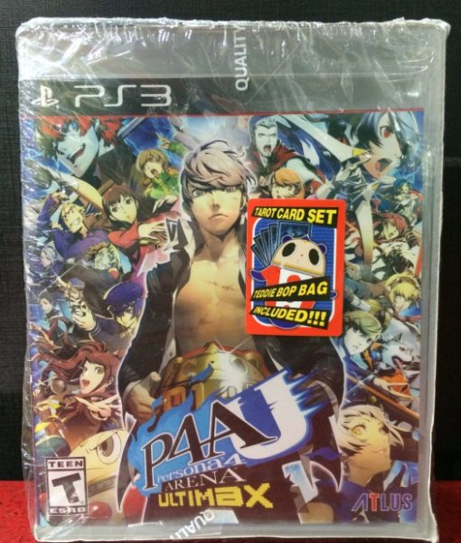 PS3 Persona 4 Arena Ultimax game