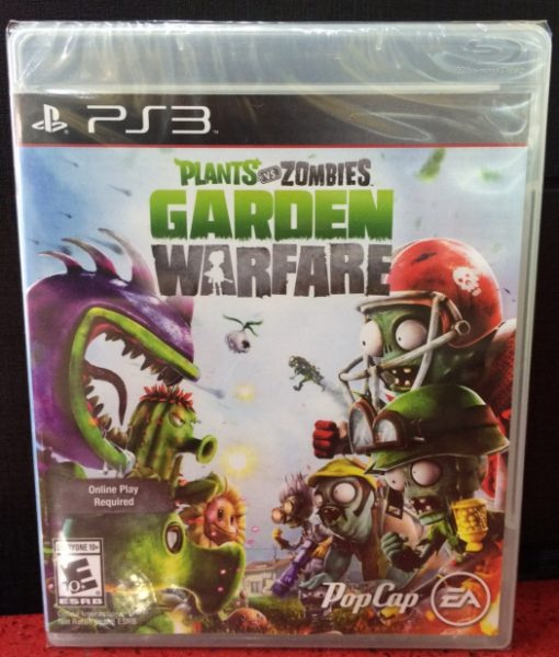 PS3 Plants vs Zombies Garden Warfare game