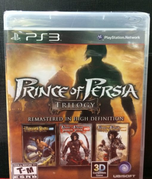 PS3 Prince of Persia Trilogy game