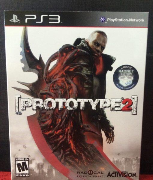 PS3 ProtoType 2 game