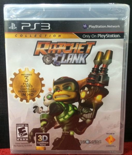 PS3 Ratchet and Clank Collection game